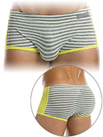 Modus Vivendi - Striped Flash Brazil Boxer - Grey