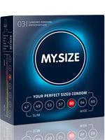 3 x MY.SIZE Condoms - Size 60