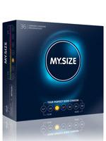 36 x MY.SIZE Condoms - Size 53