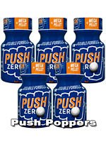 5 x PUSH ZERO small - PACK