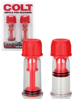 COLT Nipple Pro-Suckers Red