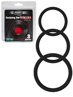 Push Monster Cockring - Silicone Ring Set