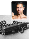 Andrew Christian Bullet Necklace