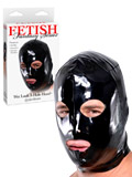 Fetish Fantasy - Wet Look 3-Hole Hood