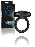 OptiMALE - Vibrating C-Ring - Black