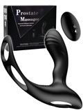 Silicone Remote Prostate Massager with Heating Function