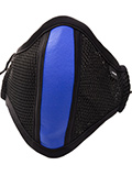 Barcode Berlin - Protective Mask with Filter - Black/blue