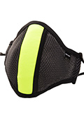 Barcode Berlin - Protective Mask with Filter - Grey/neon yellow