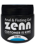 Zenn - Anal & Fisting Gel - 500 ml